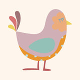 Bird cartoon theme elements vector,eps Stock Photography