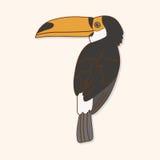 Bird cartoon theme elements vector,eps. Vector illustration file Stock Photos