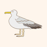 Bird cartoon theme elements vector,eps. Vector illustration file Royalty Free Stock Image
