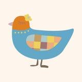 Bird cartoon theme elements vector,eps Stock Photography