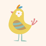 Bird cartoon theme elements vector,eps Royalty Free Stock Photos