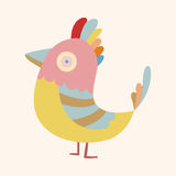 Bird cartoon theme elements vector,eps. Vector illustration file Royalty Free Stock Images