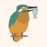 Bird cartoon theme elements vector,eps Royalty Free Stock Photos