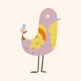 Bird cartoon theme elements vector,eps Stock Images