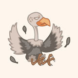 Bird condor cartoon theme elements vector,eps Stock Photography