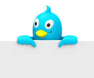 The bird Royalty Free Stock Photo