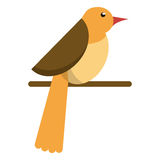 Bird dove fauna fly icon Stock Photo