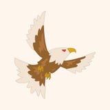 Bird eagle cartoon theme elements vector,eps Royalty Free Stock Photo