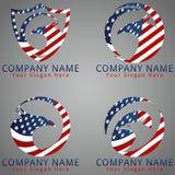 Bird Eagle Concept Logo / Icon / Mascot Stock Photography