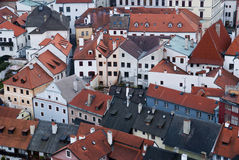 Bird eye view of buildings Royalty Free Stock Photo