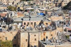Bird eye view of Jerusalem Royalty Free Stock Photos