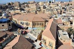 Bird eye view of Jerusalem Stock Image