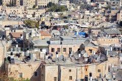 Bird eye view of Jerusalem Stock Photos