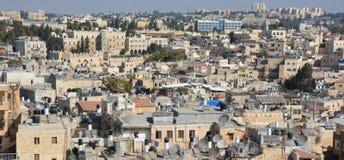 Bird eye view of Jerusalem Stock Photo