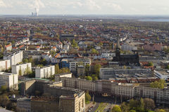 Bird Eye View of Leipzig Stock Photography
