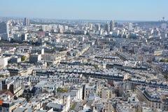 Bird eye view of Paris Royalty Free Stock Images
