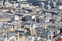 Bird eye view of Paris Royalty Free Stock Photography