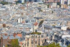 Bird eye view of Paris Stock Photos
