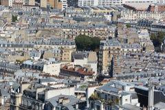Bird eye view of Paris Stock Photography
