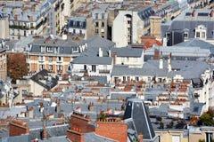 Bird eye view of Paris Royalty Free Stock Image