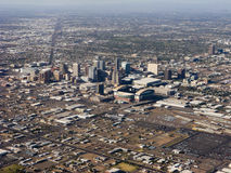 Bird-eye view of Phoenix, AZ Stock Photos