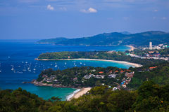 Bird eye view of Phuket, Thailand Stock Image
