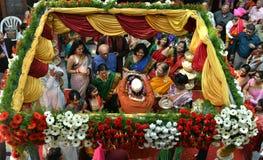 Bird eye view of wedding ceremony Royalty Free Stock Image