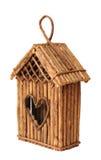 Bird feeder house Royalty Free Stock Photo