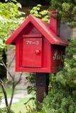 Bird Feeder, House, Letter Box, Birdhouse royalty free stock photos