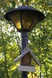 The bird feeder Royalty Free Stock Image