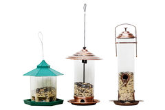 Bird Feeders Royalty Free Stock Photo