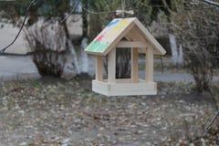 Bird feeders Royalty Free Stock Photography