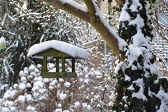 Bird feeders Stock Photo