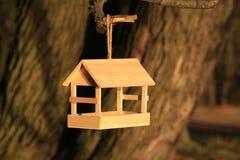 Bird feeders. On the tree royalty free stock photo