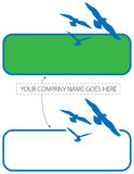 Bird Flight Logo Stock Photography