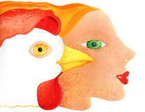 Bird flu Royalty Free Stock Photo