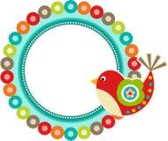 Bird Frame Spring Stock Images