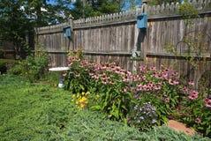 Bird Friendly Garden Royalty Free Stock Photos