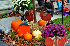 Bird-in-Hand, PA: Autumnal Decorations Stock Image
