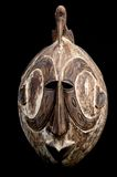 Bird head African mask. Masks are used at important festivities all around Africa Stock Photos