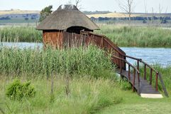 Bird Hide Royalty Free Stock Image