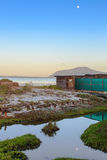 Bird hide at West Coast National Park - South Africa Royalty Free Stock Photo
