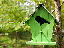 Bird home. A house made for birds Royalty Free Stock Image