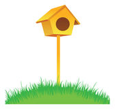 Bird house Stock Photography