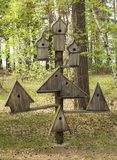 Bird house Royalty Free Stock Images