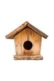 Bird house. Co wooden bird house made beautiful shape royalty free stock photos