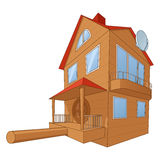 Bird house deluxe 2 Stock Images