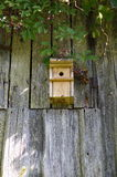 Bird house in farm Stock Images