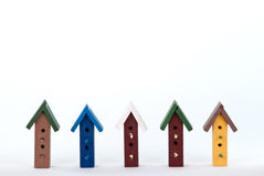 Bird House Frame Royalty Free Stock Photography