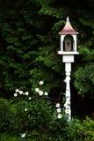 Bird house. A bird house in a garden royalty free stock images